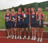 Presdales U14 Girls win County League Title 2011
